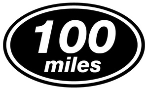 Image result for 100 miles
